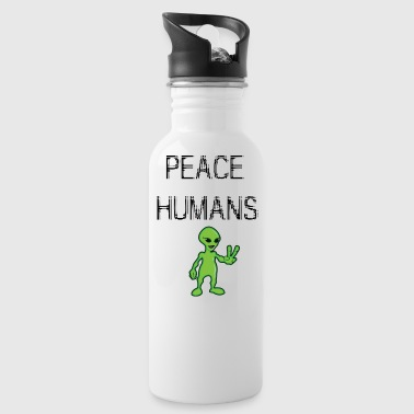 peace humans - Water Bottle