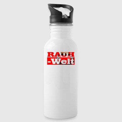 Red RWB typo - Water Bottle
