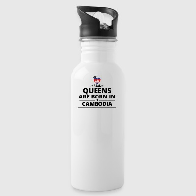 GESCHENK QUEENS LOVE FROM CAMBODIA - Water Bottle