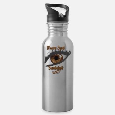 Bombshell Brown Eyed Bombshell Humble Brag - Water Bottle