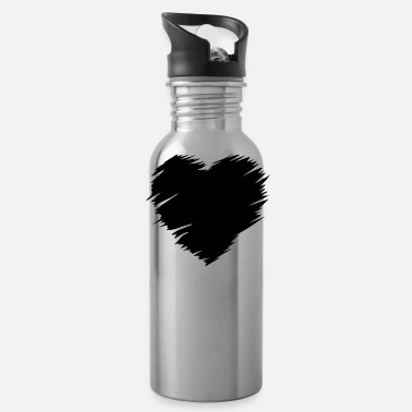Love Heart Heart - love heart - Water Bottle
