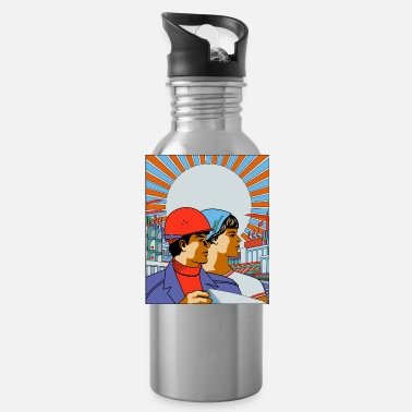Worker worker - Water Bottle