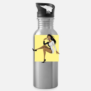 African American african american - Water Bottle