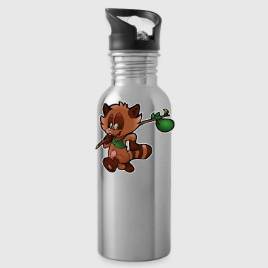 Raccoon raccoon - Water Bottle