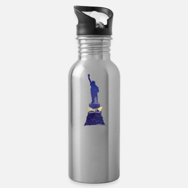 Statue statue of liberty - Water Bottle