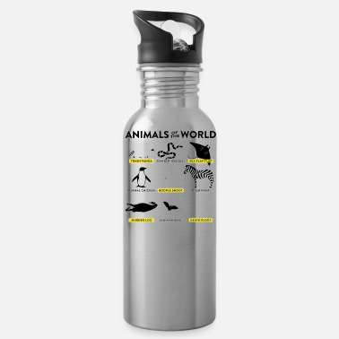 Animal World Animals of the world - Water Bottle