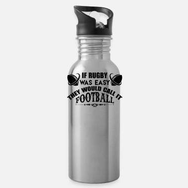 Easy If Rugby Was Easy Football Mug - Water Bottle
