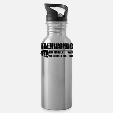 Taekwondo Taekwondo The Shorter The Fight Mug - Water Bottle