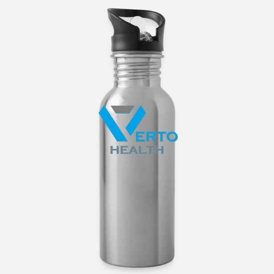Fitness Mugs & Drinkware - Verto Health - Water Bottle silver