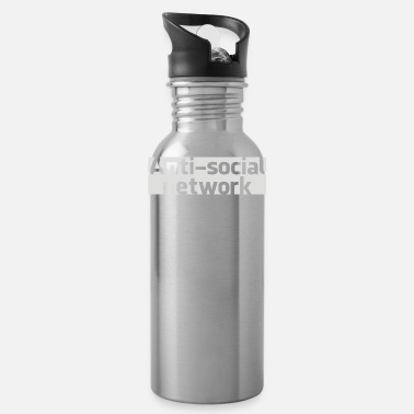 Social Network Anti social network - Water Bottle