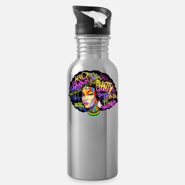Woman AFRICA WOMAN AFRO - Water Bottle
