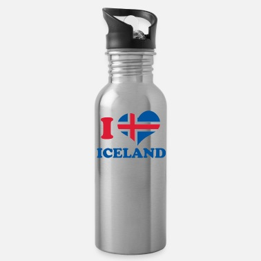 Geyser I love iceland - Water Bottle