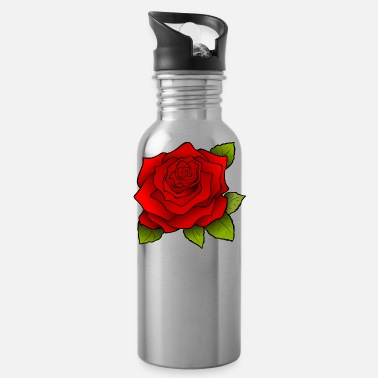 Rose rose - Water Bottle