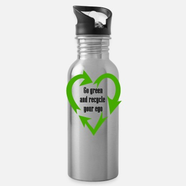 Kill Your Ego Go green and kill your ego. But thin at the enviro - Water Bottle