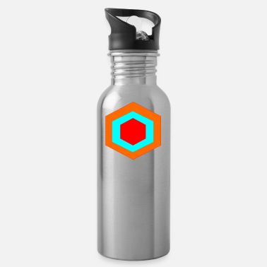 Hexagon hexagon - Water Bottle
