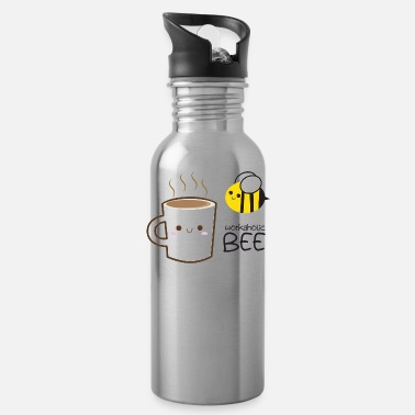 Workaholic workaholic bee - Water Bottle