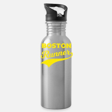 Boston Marathon Boston Runners Running Marathon - Water Bottle