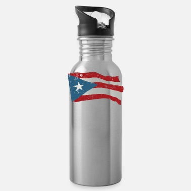 Puerto Rico Puerto Rico Pride Boricua Flag Country Homeland - Water Bottle