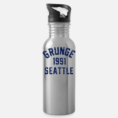 Seattle grunge seattle - Water Bottle