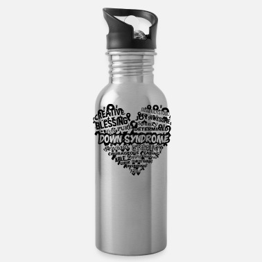 Down Down Syndrome Awareness Mug - Water Bottle
