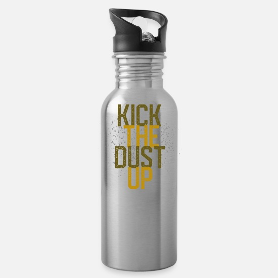 Play Mugs & Drinkware - Kick the dust up - Water Bottle silver