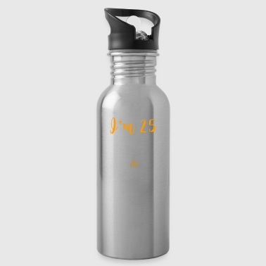 Birthday gift 25 plus shipping - Water Bottle