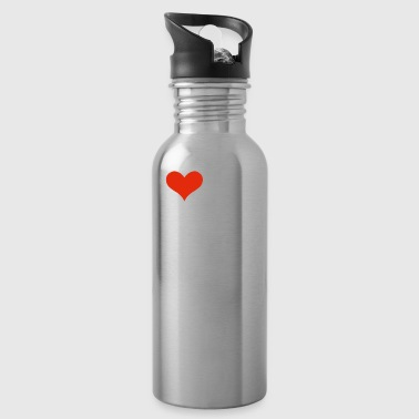 I Love my hot Mauritian Fiancee Engaged Engagement Mauritius - Water Bottle