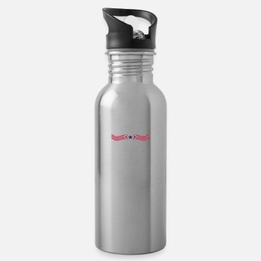 Patriot Freedom Loving American Patriot USA Dedicated 1776 - Water Bottle