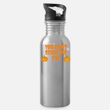 Marriage Can't scare me I'm Married to a Spanish Teacher - Water Bottle