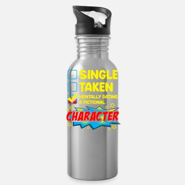 Manga Cute & Funny Mentally Dating A Fictional Character - Water Bottle