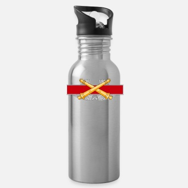Artillery Combat Artillery Badge - Water Bottle