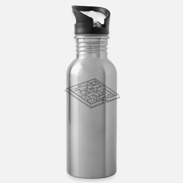 The Maze Runner maze - Water Bottle
