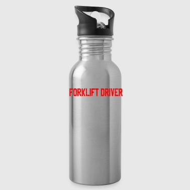Father Fathers Day forklift - Water Bottle