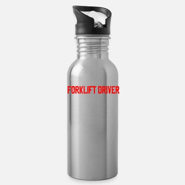 Fathers Day Father Fathers Day forklift - Water Bottle