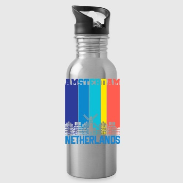 Holland Amsterdam Holland Netherlands - Water Bottle