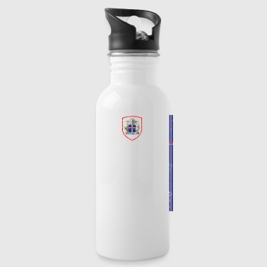 Iceland retro sports jersey - Water Bottle