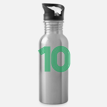Jersey Number 10 SHIRT - Water Bottle