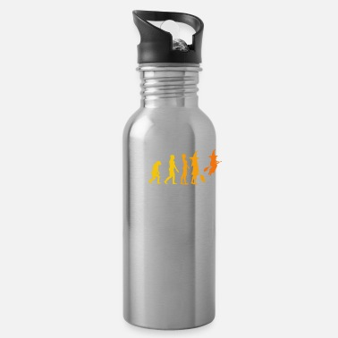 Witch Evolution Halloween Funny Costume Halloween - Water Bottle