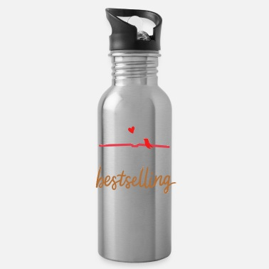 Book Author Book Writing - Water Bottle