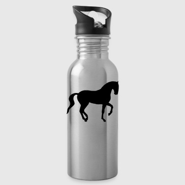 Dressage Piaffe Horse - Water Bottle