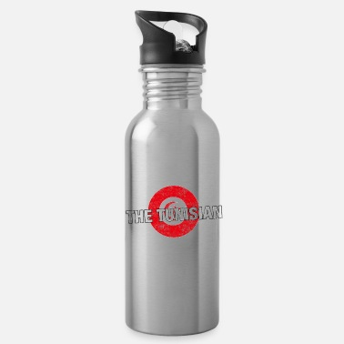 Tunisian Have No Fear The Tunisian Is Here - Water Bottle