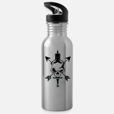 Business NDG's Skull Water Bottle - Water Bottle