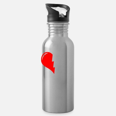 14th February HAPPY VALENTINES BIRTHDAY - Water Bottle