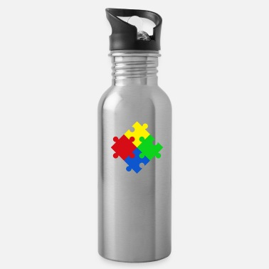 Aunt Autism awareness - being aware of autism - Water Bottle