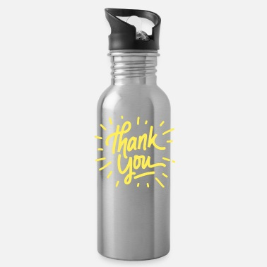 Thank You Thank you - Water Bottle