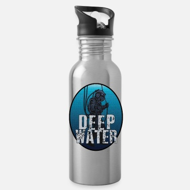 Deep Sea Diver T-Shirt Diver Deep Sea - Water Bottle