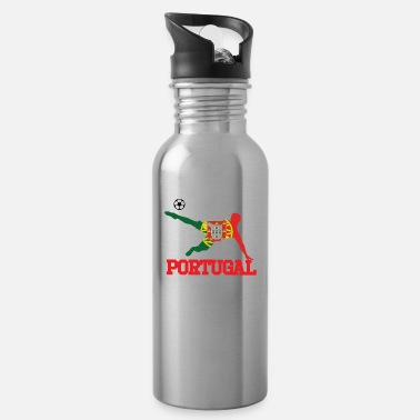 Portugal portugal soccer, #portugal - Water Bottle