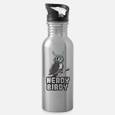 Nerdy Nerdy Birdy - Water Bottle