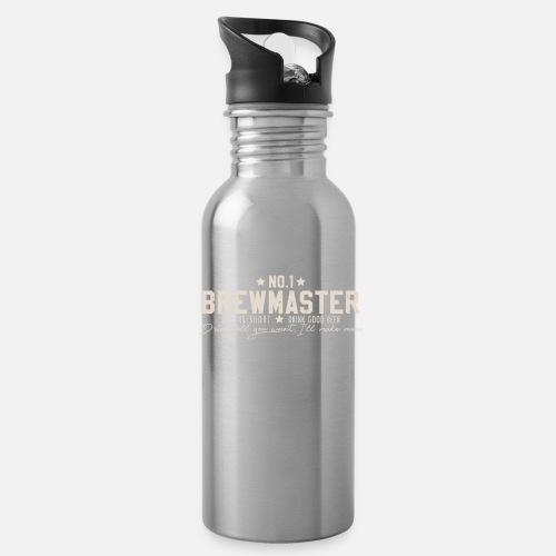Water BottleNumber One Brewmaster - Beer Brewing Brewer Gift
