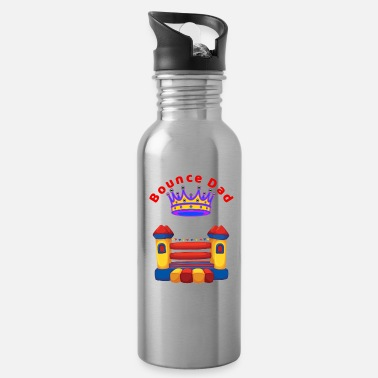 House Bounce House DAD Fun Summer - Water Bottle